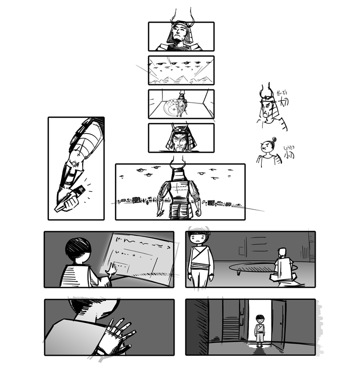 Ready Player One Storyboards Preview