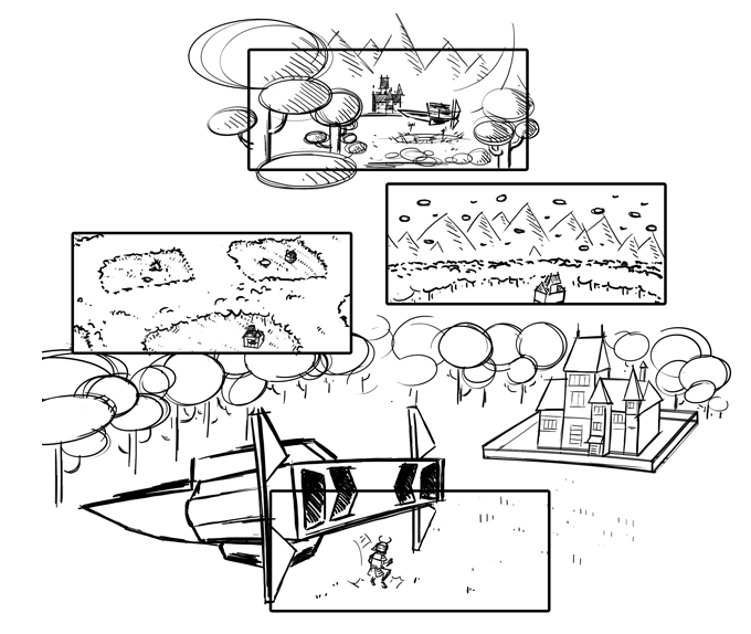Ready Player One Storyboards 1