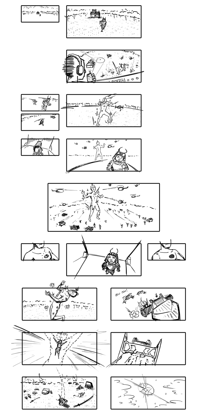 Ready Player One Storyboards 5