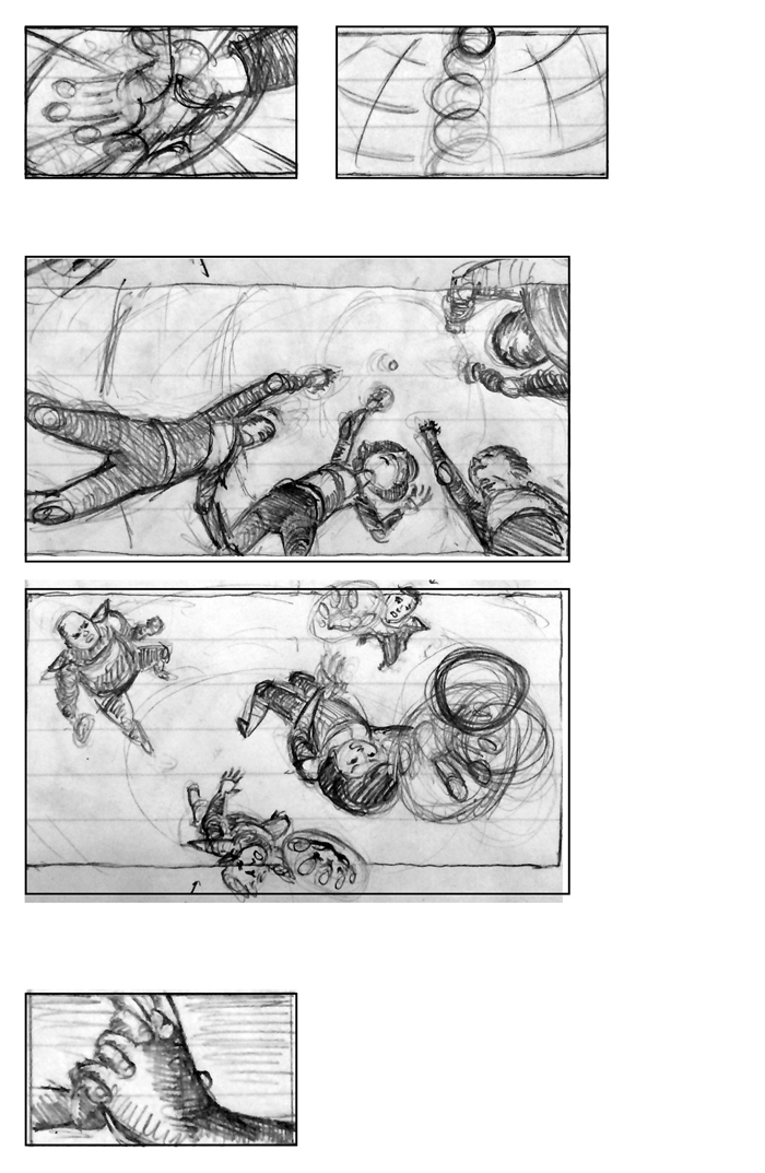 Super Ricochet Storyboards Rough 11