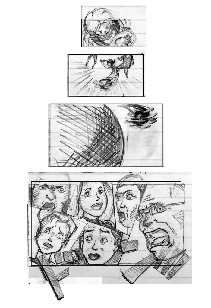 Super Ricochet Storyboards Rough 12