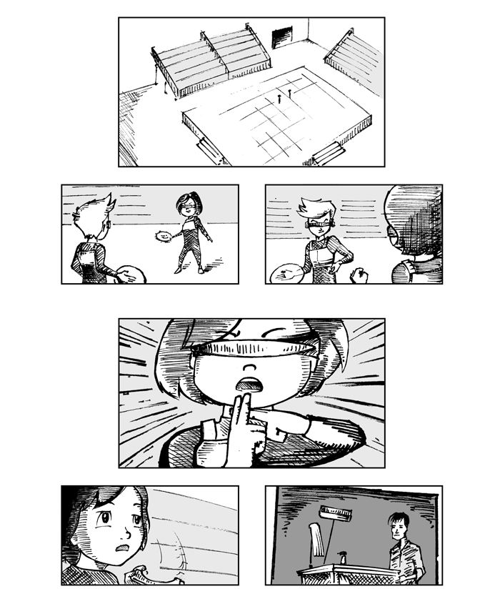Super Ricochet Storyboards 1
