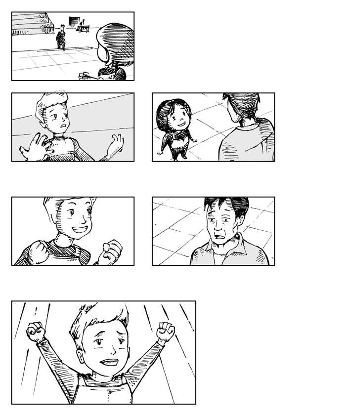 Super Ricochet Storyboards 2
