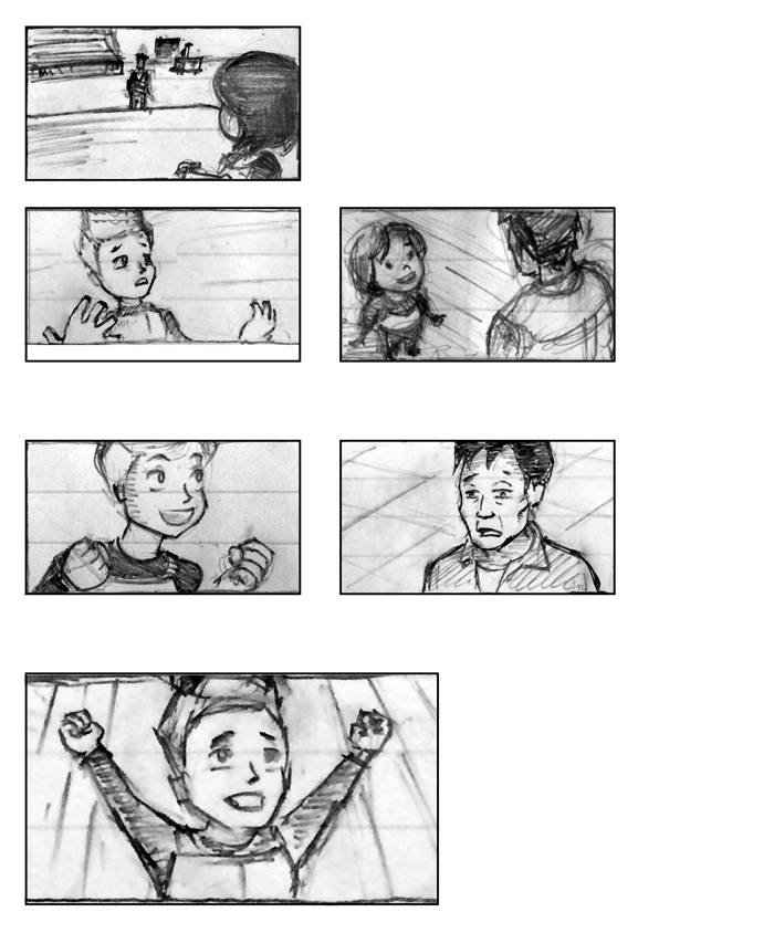 Super Ricochet Storyboards Rough 2