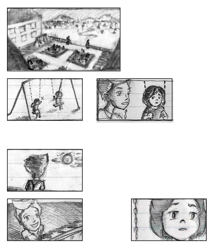 Super Ricochet Storyboards Rough 3