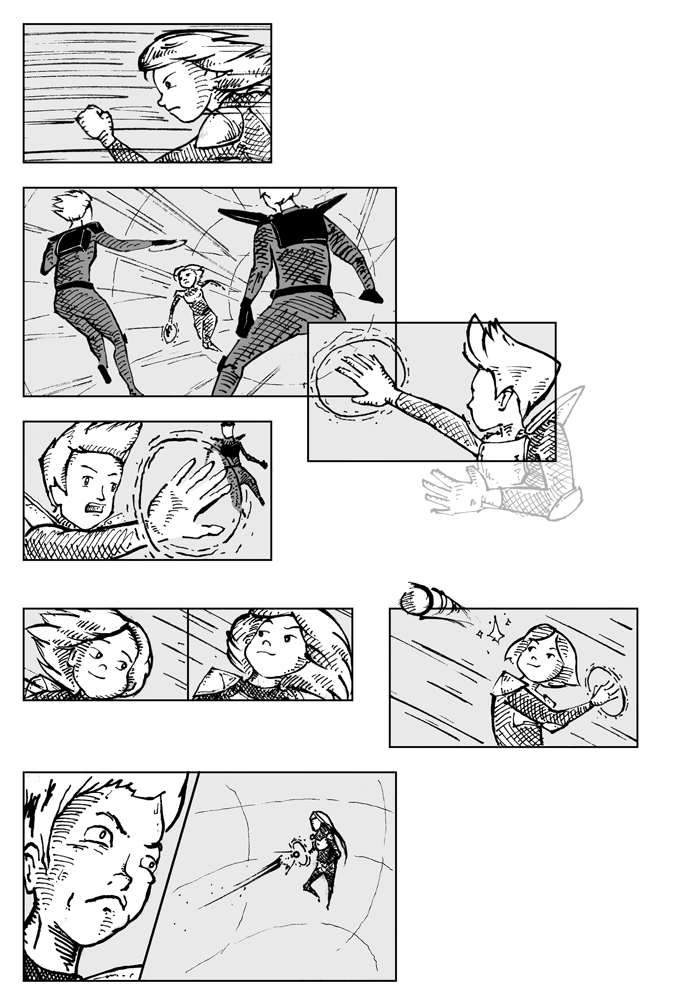Super Ricochet Storyboards 7
