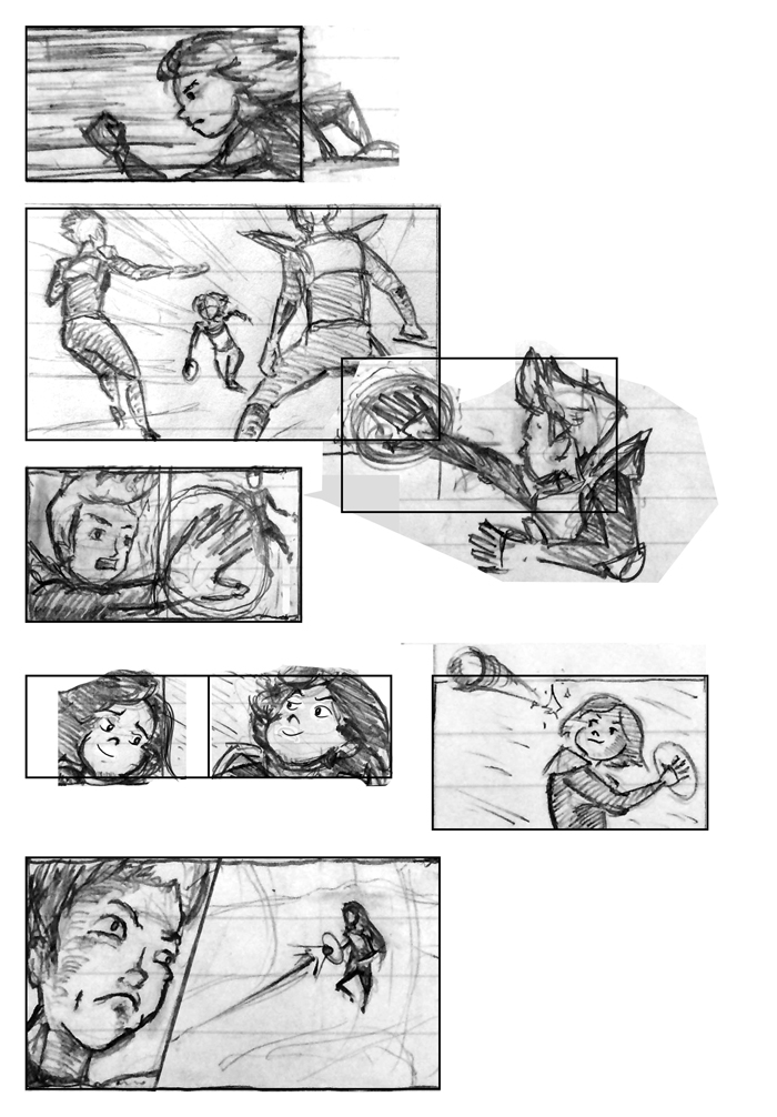 Super Ricochet Storyboards Rough 7
