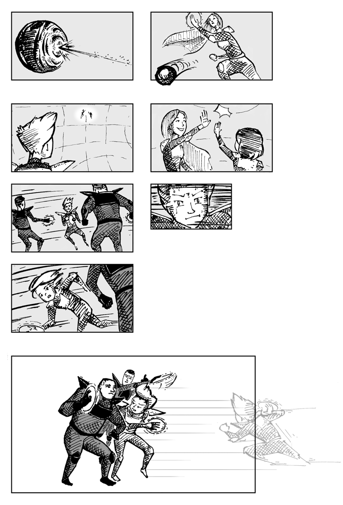Super Ricochet Storyboards 8